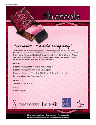 What's Better than Benefit, Hanky Panky, Godiva, and Fusion Liqueur?