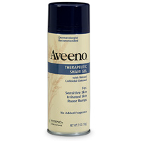 Smooth Operator: Aveeno Therapeutic Shave Gel