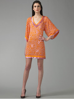 Blumarine Sequined Tunic Mini Dress