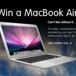 Win a Mac Book Air!