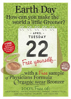 Physicians Formula is Giving Away Organic Wear Bronzers on April 22nd!