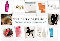 The Daily Obsession is Hosting a Giveaway