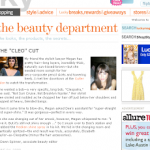 "Check Out ""The Beauty Department,"" Lucky Magazine's Beauty Blog"