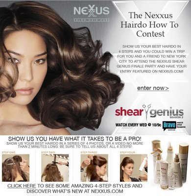 Nexxus Hairdo How To Contest