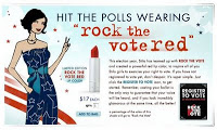 Stila's Rock the Vote Red