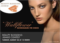"Win a Three Custom Color ""Wallflower"" Watercolours for Cheeks!"