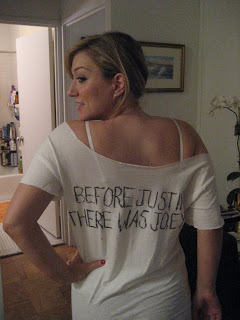 DIY NKOTB T: The Back
