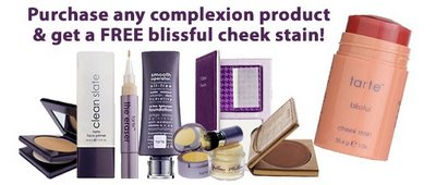 Get a Free Blissful Cheek Stain from Tarte!