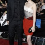 Kristen Stewart and Robert Pattinson at the Twilight Premiere in L.A.