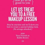 Get a Free Makeup Lesson at Bobbi Brown