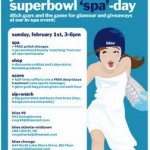 Head to Bliss for a Superbowl Spa Day!