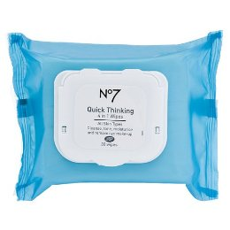 Don't Need No Credit Card To Ride This Train Week: Boots No7 Quick-Thinking 4-in-1 Wipes