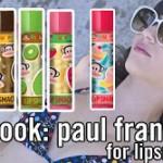 Totally Bananas: Paul Frank for Lipsmacker