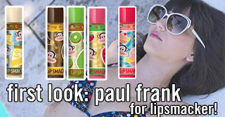 Totally Bananas: Paul Frank for Lipsmacker