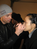 Fashion Week: BBJ Backstage at 3.1 Philip Lim