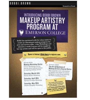 Bobbi Brown to Introduce Makeup Artistry Program at Emerson College