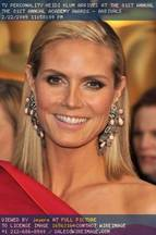 Oscars 2009 Beauty: Heidi Klum