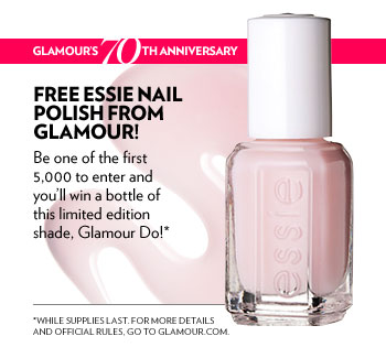 "Enter to Win a Mini Bottle of Essie's ""Glamour DO"" Nail Polish"