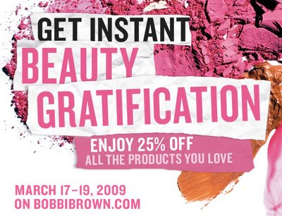 Bobbi Brown Special Online Sale Starts Tomorrow