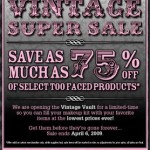 Too Faced Super Sale