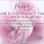 Today Only: Free Shipping at Fresh