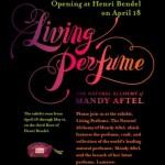 Living Perfume Event at Henri Bendel