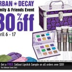 Urban Decay Friends & Family Event
