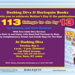 Dashing Diva Partners with Harlequin Books for an Event Tomorrow