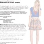 Felicia Sullivan's Fashion For All Donation Pre-Party!