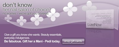 The Perfect Gift At Your Fingertips: LuxeNow Gift Cards