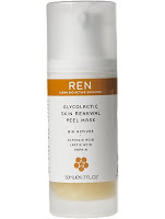 REN, Not Stimpy: REN Glycolactic Skin Renewal Mask and Moroccan Rose Otto Sugar Body Polish