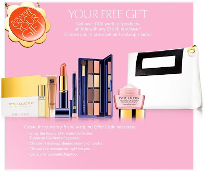 Create Your Free Gift on Esteelauder.com!