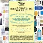 Kiehl's Friends and Family!