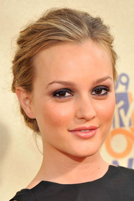 Get the Look: Leighton Meester's Makeup at The 2009 MTV Movie Awards
