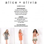 Alice + Olivia Sample Sale