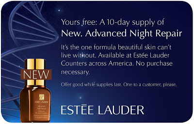 Estée Lauder to Distribute 250,000 10-Day Samples of NEW Advanced Night Repair