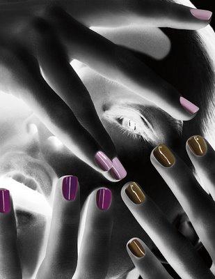 MAC Cosmetics Nail Trend F/W 09 By Jin Soon