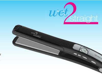 Intern Liz Reports on Remington's New Wet 2 Straight Flat Iron