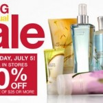 20% Off at Bath & Body Works