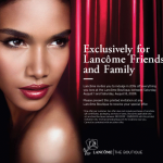 Get 20% Off at Lancome Boutiques!