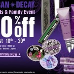Urban Decay Friends and Family Discount