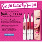 Get a Sneak Peek of the new Barbie Loves Stila Limited Edition Color Collection