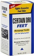 Eff Flip-flops; Force the Flats: But Use Certain Dri Feet Microsponge Powder