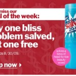 Buy One Problem Salved From Bliss, Get One Free