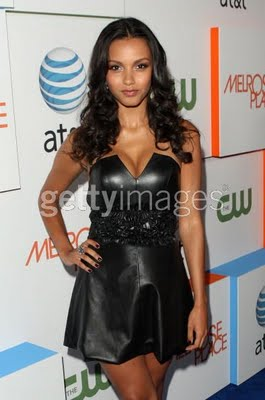Get The Look: Jessica Lucas at the Melrose Place Premiere Party