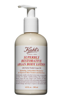 Kiehl's Superbly Restorative Argan Body Lotion: Not An Overstatement
