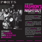 Fashion's Night Out At Ports 1961