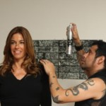 Stars Take Advantage of the Byron & Tracey Redken Beauty Bar