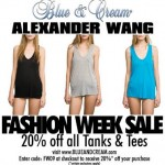 Alexander Wang T-shirt Sale at Blue & Cream