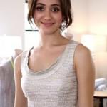 Emmy Rossom Rocks Dior Beauty at Fashion Week Spring 2010